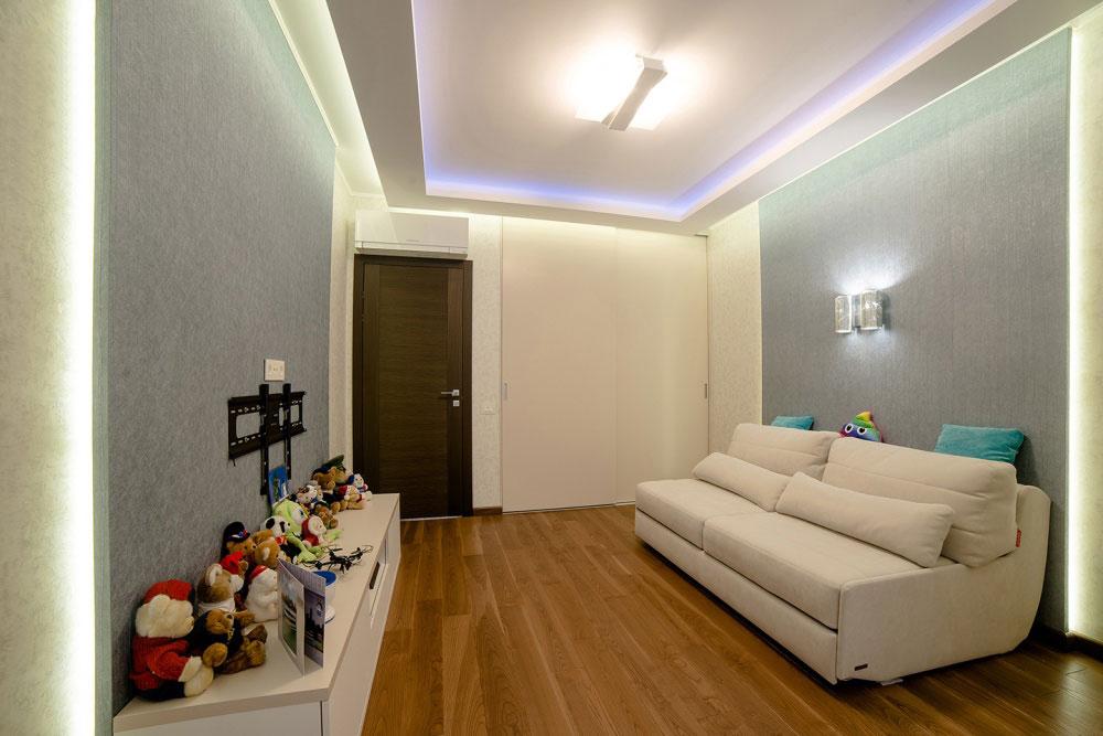 Натяжной потолок 6,2м2