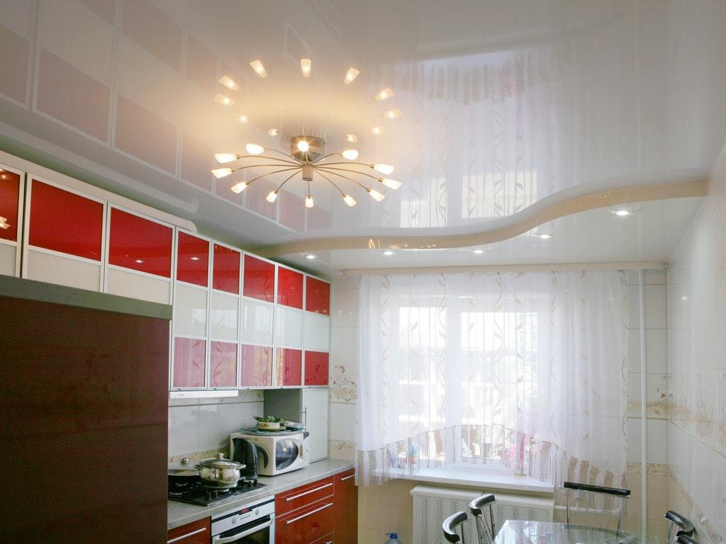 Многоуровневые натяжные потолки от производителя Ремонтофф. Ремонт и отделка квартир под ключ.