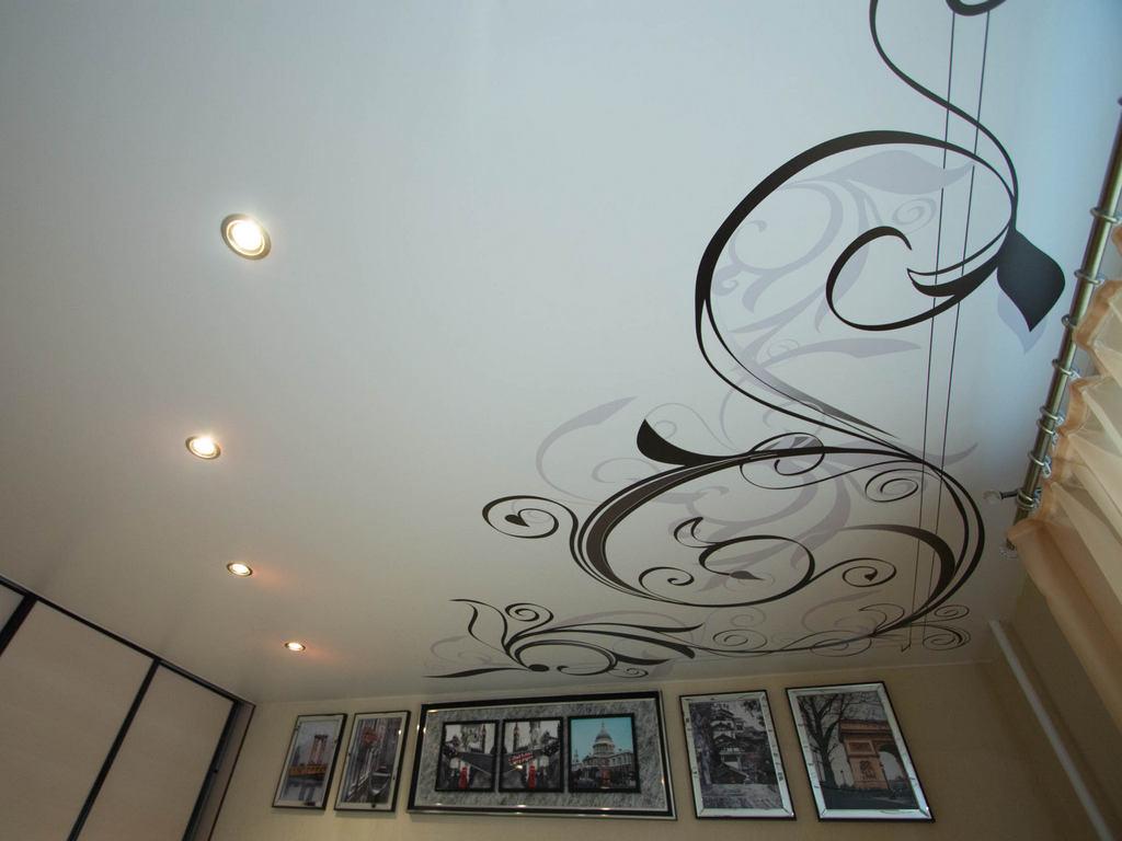 Матовые натяжные потолки фото Ремонтофф. Ремонт и отделка квартир под ключ.