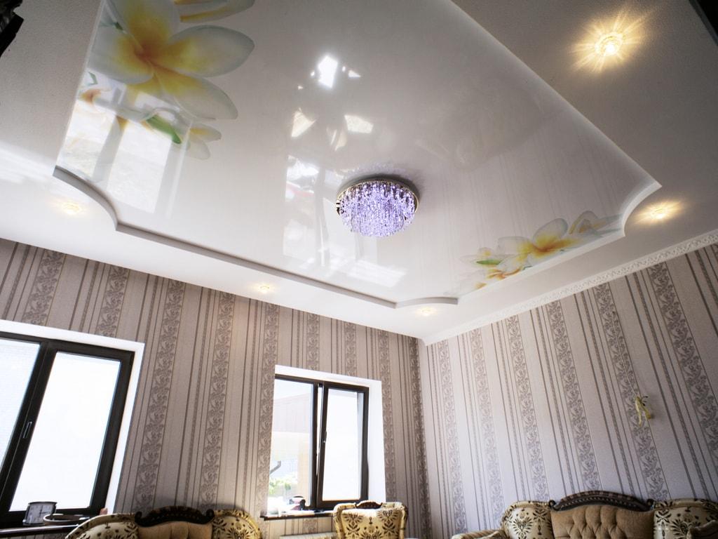 Натяжные потолки фотопечать от производителя Ремонтофф. Ремонт и отделка квартир под ключ.