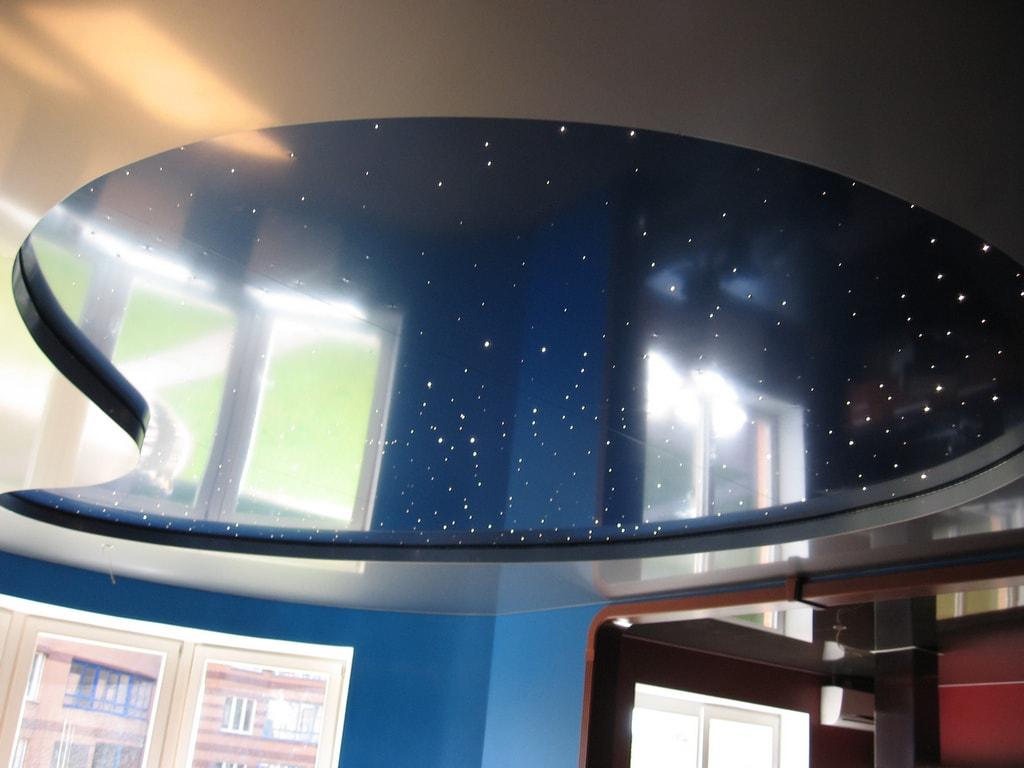 Потолок звездное небо от производителя Ремонтофф. Ремонт и отделка квартир под ключ.